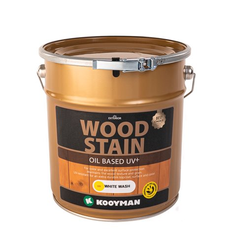 Kooyman Stain UV Wood Paint White Wash 1 Gallon