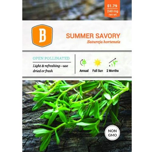 Bentley Summer Savory Seed