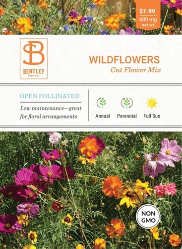 Bentley Wildflower Cut Flower Mix Seed