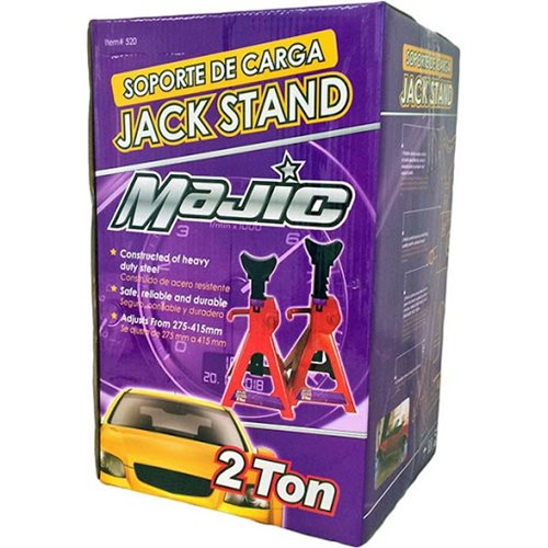 Majic 521 Jack Stand 2 Ton - Box of 2
